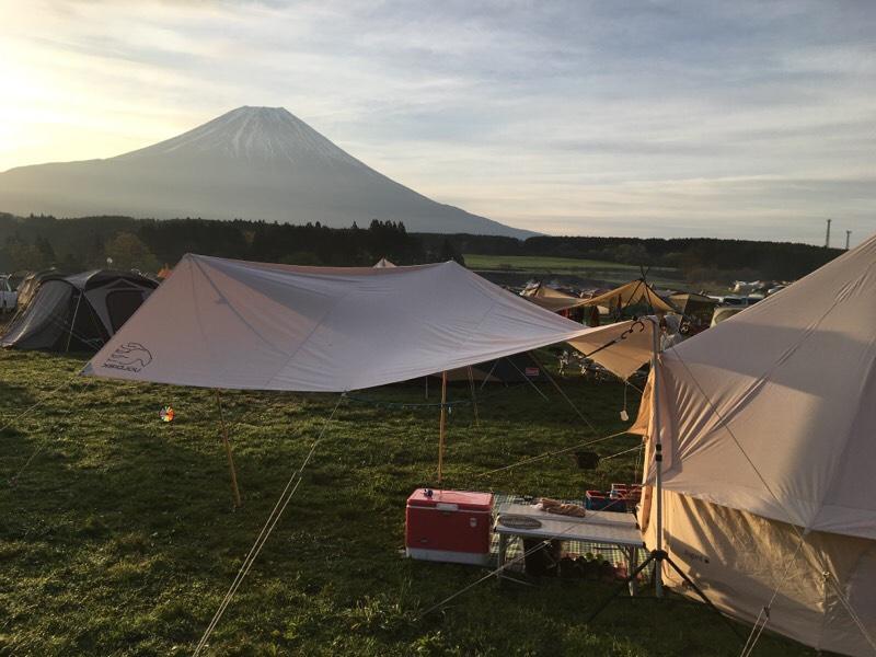 【GW】ゴールデンウィーク「ふもとっぱら」 de キャンプ