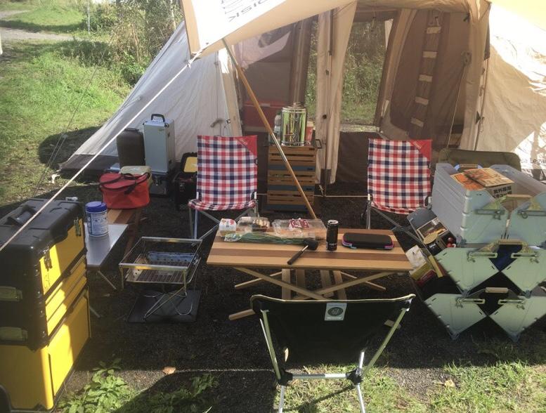 ラグジュアリーなキャンプ用品といえばイナウト!スタックボックスが最高にかっこいい!